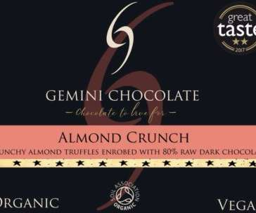 almond crunch truffle
