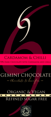 cardamom and chilli small bar