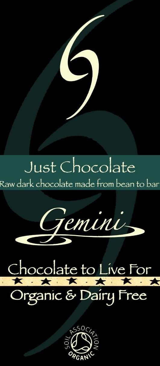 Just Chocolate – 80% raw dark chocolate made from bean to bar