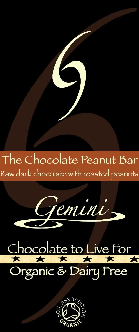 The Chocolate Peanut Bar – 70% raw dark chocolate with roasted peanuts