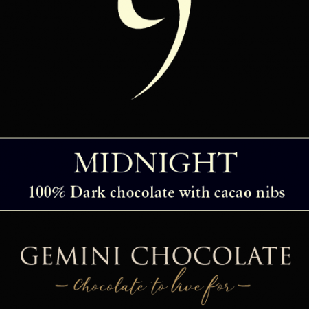 gemini chocolate - Small Bar Midnight