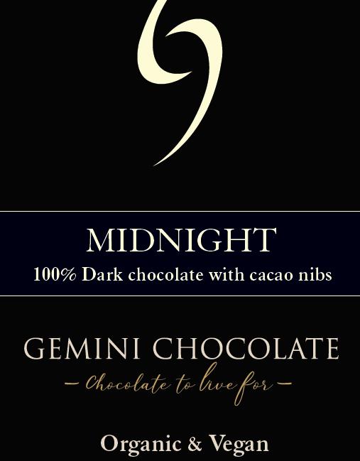 gemini chocolate - Small Bar Midnight