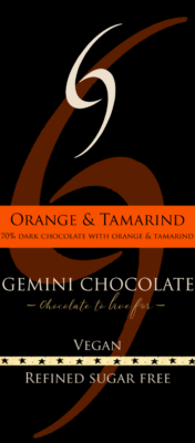 tamarind and orange chocolate
