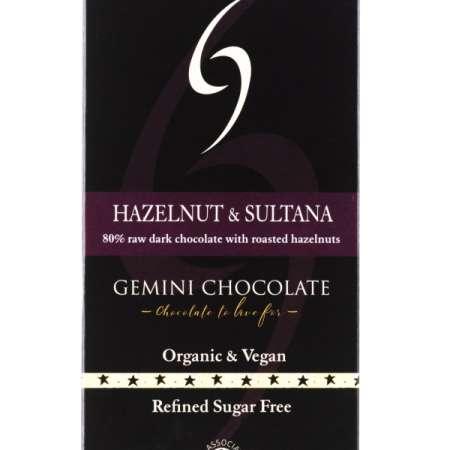 Hazelnut & Sultana - Raw Chocolate