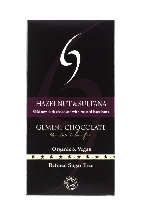 Hazelnut & Sultana - Raw Chocolate