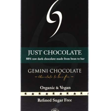 Just Chocolate - 80% Raw Organic Chocolate
